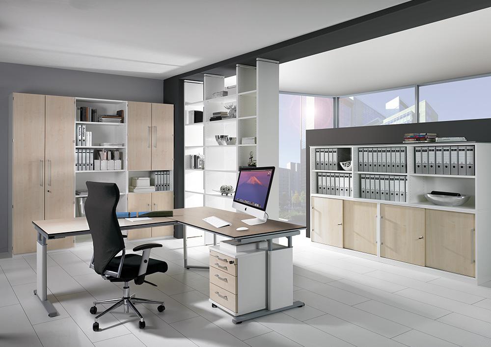b ros schreibtische st hle regale und boards einrichtungshaus schreiner in wallersdorf. Black Bedroom Furniture Sets. Home Design Ideas