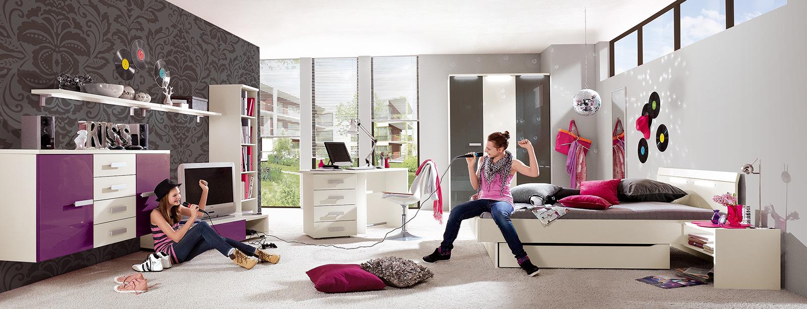 jugendzimmer beim bel und bettcouchen einrichtungshaus schreiner in wallersdorf. Black Bedroom Furniture Sets. Home Design Ideas